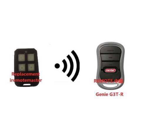 Genie G3T-BX 3-Button Intellicode II Garage Door Mini replacement Remote 315mhz крышка genie dome
