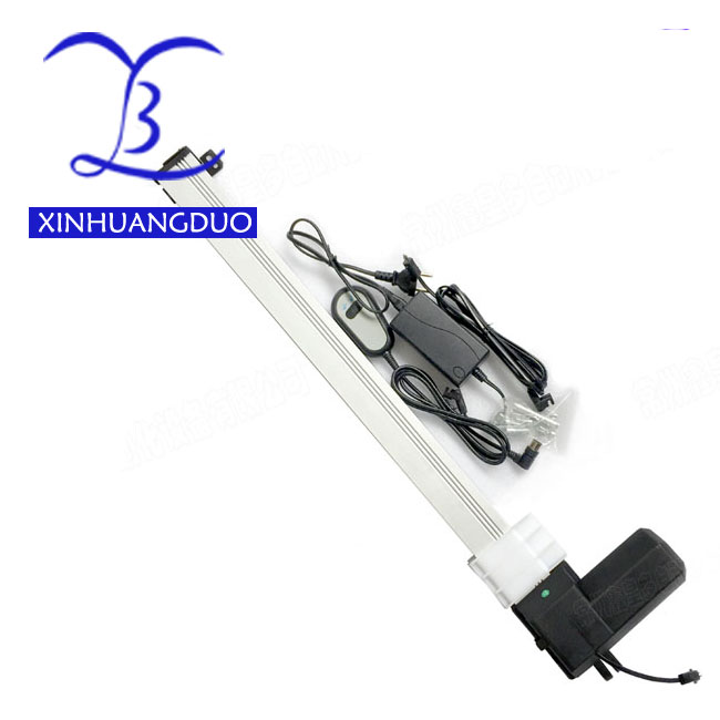 800mm 32inchstroke slider block Electric linear actuator motor DC24V 20mm/s Heavy Duty Push 150Kg health bed TV lift+controller
