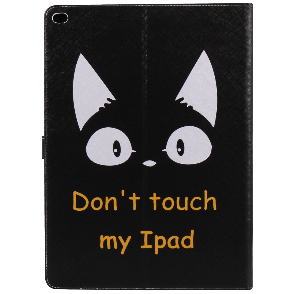 Cat Tablets Case Luxury Ultra Slim Magnetic Smart Flip Stand PU Leather Cover For Apple ipad pro 2017 12.9 inch Wake Up Sleep