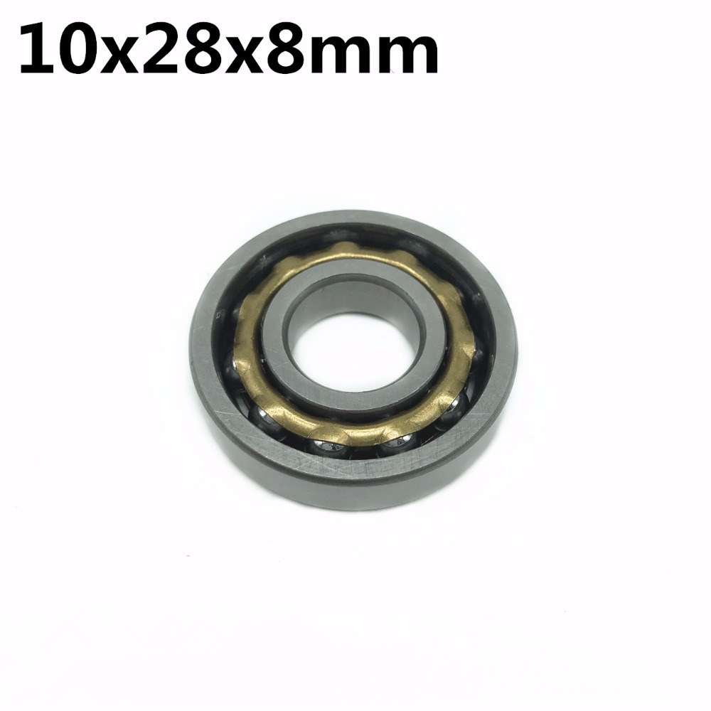 1pcs Magneto Bearing 10x28x8 Mm Angular Contact Separate Permanent Motor Ball Bearings E10 FB10 A10 ND10 T10 M10 EN10
