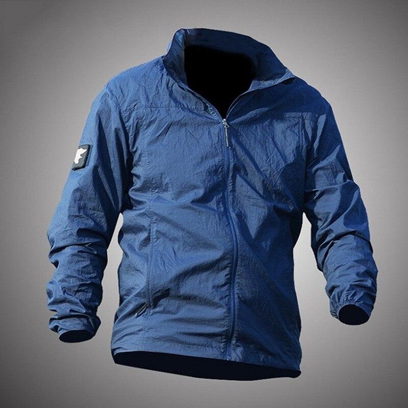 esportes ao ar livre protetor solar rapida seca fina pele roupas jaqueta impermeavel anti uv respiravel