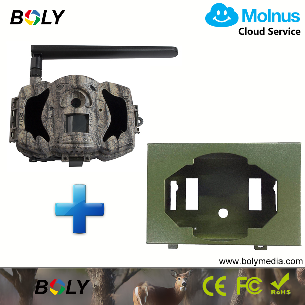 MG984G-36MP plus safety case 1080P 4G hunting trail cameras MMS GPRS photo trap cloud service Molnus except for North America