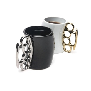 Brass Knuckles Big Cup BEST Gift Knuckleduster Creative Perfect Design CUP