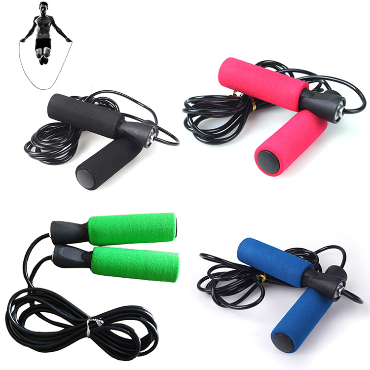 3m Bearing Skip Rope Cord Speed Fitness Aerobic Jumping Exercise Equipment Adjustable Boxing Skipping Sport Jump Rope 4 Colors