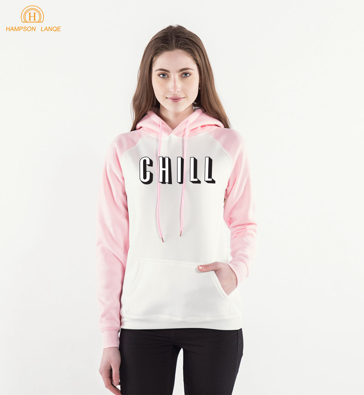 Fashion Brand Chill Raglan Hoodies Sweatshirts Women 2019 Spring Autumn Kawaii Women's Hooded Warm Fleece Long Sleeve Hooded