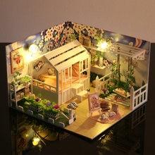 Акриловая кукольная мебель «сделай сам» 3d деревянные миниатюры