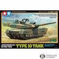 Tamiya 32588 1/48 Japão GSDF OHS Tipo 10 Tanque Militar Montagem AFV Kits Modelo de Construção