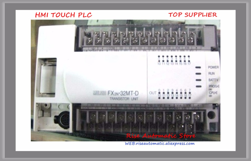 New Original with Programmable Controller PLC Main Unit AC 220V 16 DI 16 DO Transistor FX2N-32MT-D FX2N-32MT-001 plc fx2n 128mt 001 original disassemble month warranty