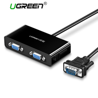 Ugreen 2 Ports VGA Switch Splitter 1920 1440 VGA Male To Two Female Splitter Cable For