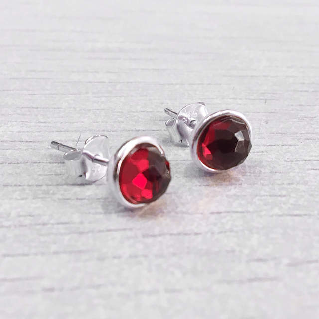 6541bb163 925 Sterling Silver Earring Birthday Gifts Twelve Months Droplets Studs  Earrings For Women Birthday Gift Fine