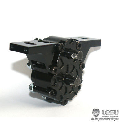 Lesu 1/2 Metall Transfer Fall Alle-rad Stick Modell Rc 1/14 Traktor Lkw Tamiya Th02239 Rc-lastwagen