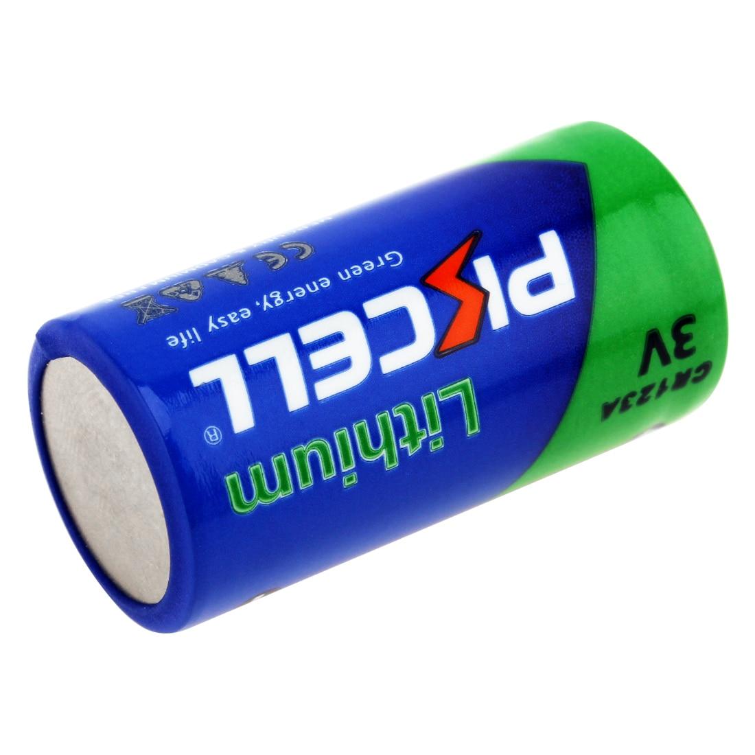 Baterias Secas 2 x cr17345 cr123a cr123a Marca : Pkcell