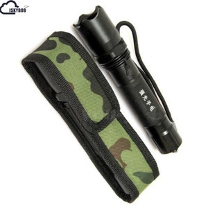 New 1pcs C8 18cm Camouflage Holster Pouch Bag Case for LED Torch Flashlight(China)