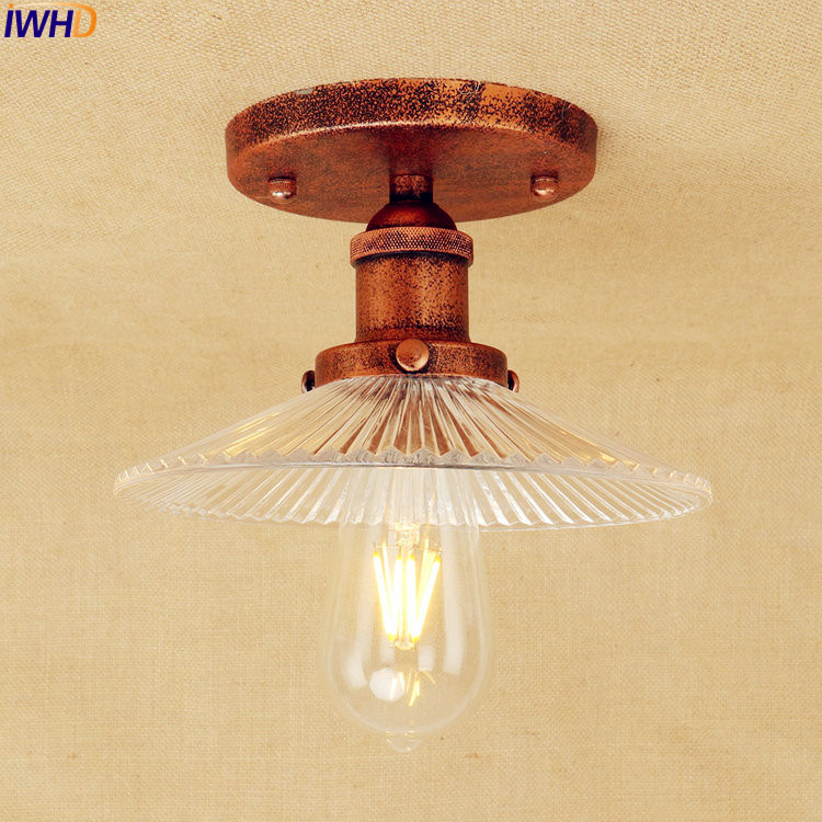 iwhd glass led ceiling light fixtures bedroom living room 15272 | iwhd glass led ceiling light fixtures bedroom living room lighting flush mount vintage industrial ceiling lights