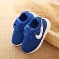 Nueva Primavera Zapatos de Bebé Antideslizantes Otoño Marca Niños Zapatos Para Boy Gril Super Inferior Suave Zapatos Niño Niños de Malla zapatos