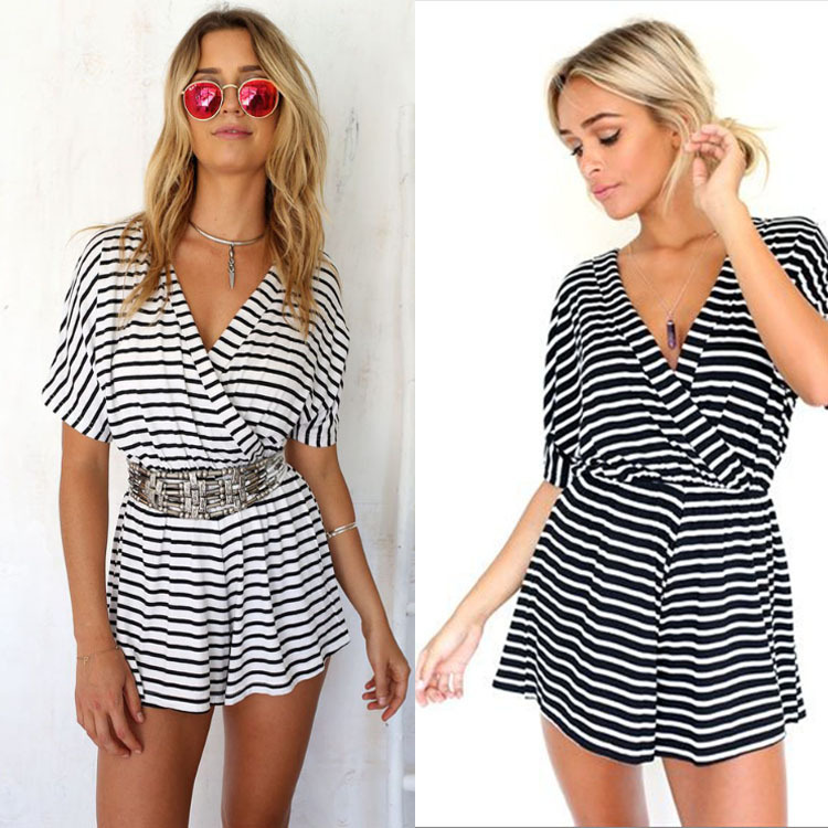 Compare Prices on Striped Jumpsuit- Online Shopping/Buy Low Price ...