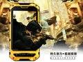 Original teléfono celular MTK6582 Quad Core Android cristal Gorilla A8 IP68 robusto teléfono Impermeable a prueba de golpes de Alto Nivel 3G GPS Ruso