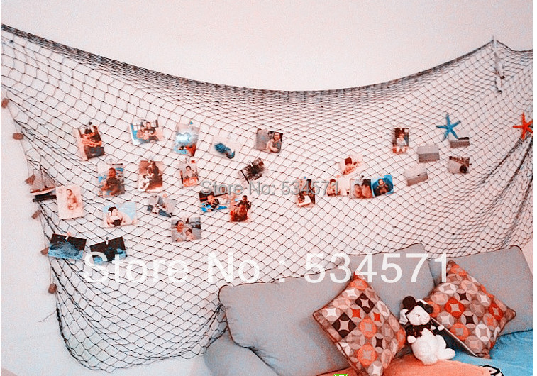 Compare prices on scene rooms online shopping buy low for Fish netting decor