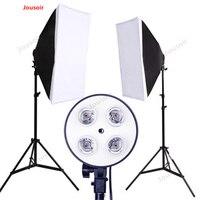 Conjunto pequeño de estudio cuatro cabezas de lámpara softbox lámpara de relleno ropa de retrato todavía mujeres accesorios de fotografía CD50 T03|Accesorios para estudio fotográfico| |  -