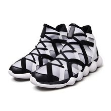 2017 New Arrival Men's Breathable Running Shoes Male Shoes Men Sneakers Slip-On Comfortable Shoes Medium cut Sport Shoes
