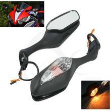 Rétroviseurs de moto, clignotant, pour HONDA CBR1000RR CBR 1000 RR 2008-2013 2012 2010 ambre froid