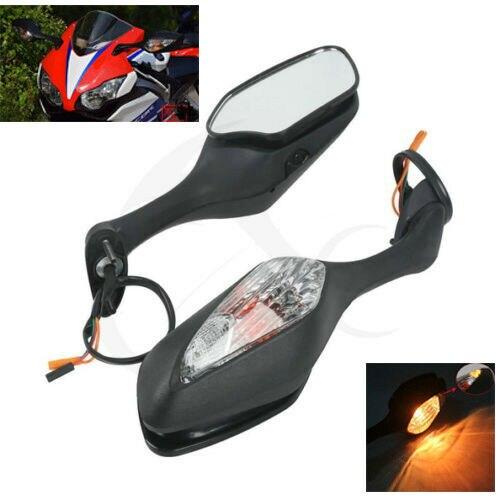 Retrovisor para motocicleta HONDA CBR1000RR, CBR 1000 RR, 2008-2013, 2012, 2010, ámbar frío