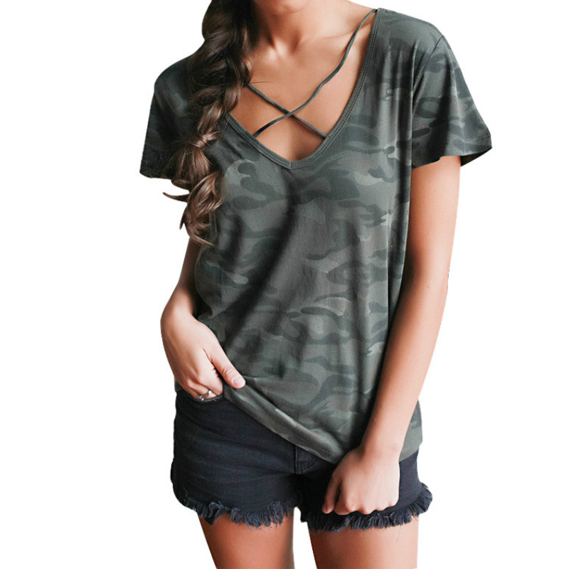 Street Style Women's Summer T-Shirts Tops