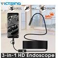 VicTsing 10 м 7 мм эндоскопическая камера Wifi Android Type-C USB бороскоп HD 6 светодиодный Змеиный фотоаппарат для Mac OS Windows Инструменты для ремонта автомоб...