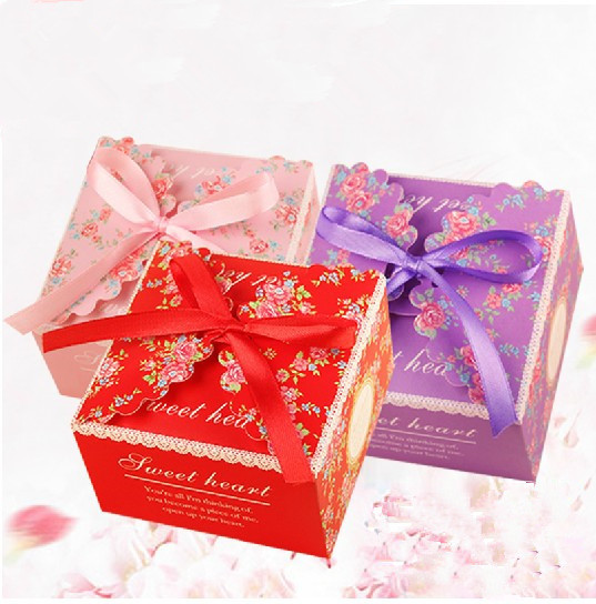 Favor Boxes Red Promotion-Shop for Promotional Favor Boxes Red on ...