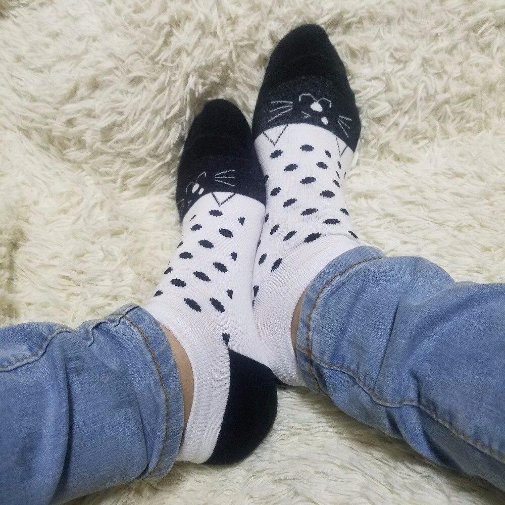45776beb Verano cómodo algodón bambú fibra chica calcetines tobillo bajo femenino  invisible del muchacho del color 1 par = 2 unids XWS663. >
