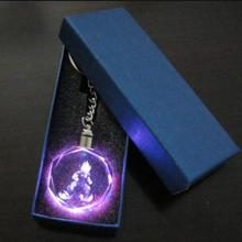 Crystal Pendant – Super Saiyan Colorful LED Light