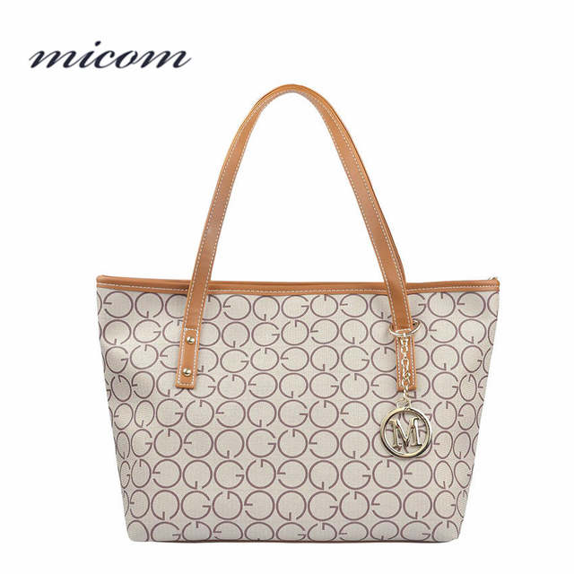 9b0e5e1bd776d Online Shop Micom Fashion Women Leather Shoulder Bag Style Luxury Handbags  Women Bags Designer Letter Tote Bag Ladies Hand Bags Sac A Main |  Aliexpress ...