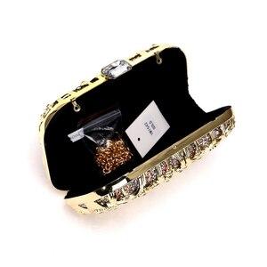 Image 3 - SEKUSA Hollow Outผู้หญิงสไตล์กระเป๋าSequinedงานแต่งงานClutchesขนาดเล็กกระเป๋าสะพายกระเป๋าถือ