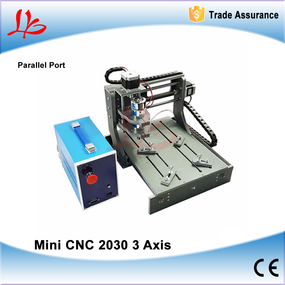 Mini CNC 2030 CNC Wood Router Engraver with Parallel Port for Woodworking & PCB Drilling mini cnc router machine 2030 cnc milling machine with 4axis for pcb wood parallel port