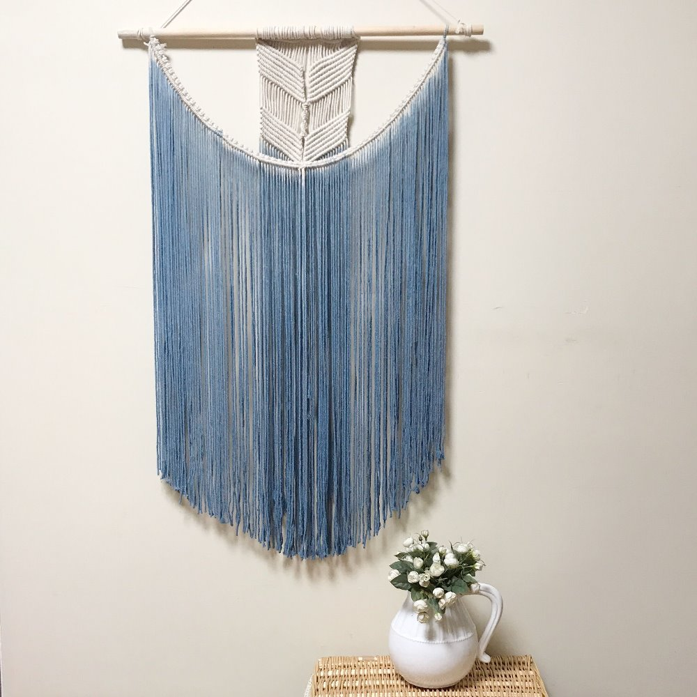 macrame wall hanging decoration wall art handmade tapestry. Black Bedroom Furniture Sets. Home Design Ideas