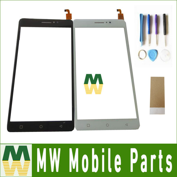 1PC/Lot High Quality For X-BO x bo xbo O1 01 Touch Screen Digitizer Replacement Part Black White Gold Color With Tape&Tools ...