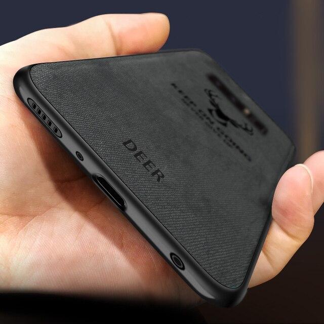 Ultra mince Antichoc En Silicone Souple Mat Batman Cerf De Noël étui pour samsung Galaxy s8 s9 s10 Plus Note 8 9 Couverture Originale coque