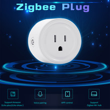 Ewelink ZigBee Smart Socket WiFi APP Voice Wireless Control Switch US Timer Plug For Samsung SmartThings Alexa Echo 1/2/3/5pcs(China)