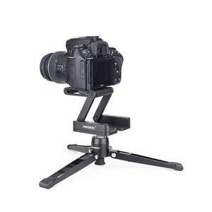 Image 5 - Innorel ZH3 Hợp Kim Nhôm Chân Máy Đầu Giải Pháp Z Pan Chân Máy Đầu Flex Gấp Gọn Kiểu Z Nghiêng Đầu Dành Cho Máy Ảnh Canon Nikon sony DSLR Camera