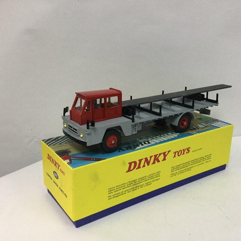 Динки игрушки 885 Atlas 1:43 Динки Игрушечные лошадки Камион saviem S7 Porte-Fer литья под давлением модели автомобиля