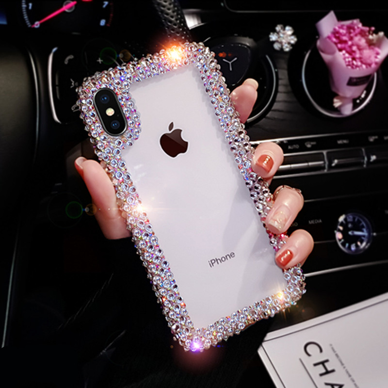 For Samsung Galaxy Phone Case Cover Rhinestone 1