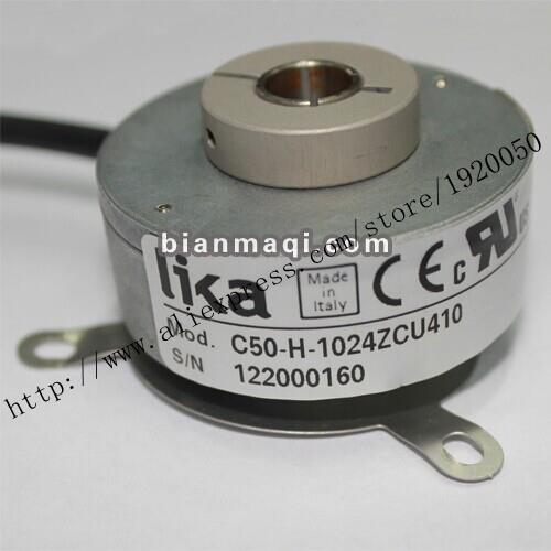 LIKA New Spot Genuine Original C50 H 1024ZCU410 10mm Hollow Shaft Rotary Encoder