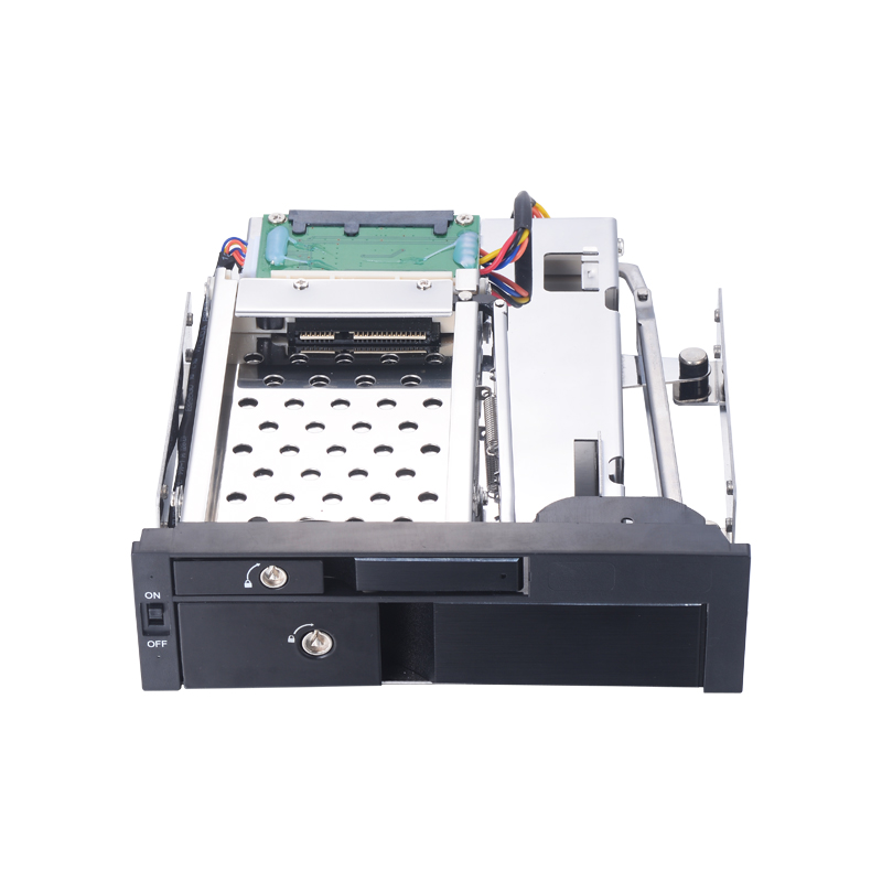5.25 Inch SATA Aluminum Internal Hdd Mobile Rack With Lock For Optical Bay With Hot Swap Without USB3.0 Port