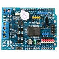 L298P DC Motor Drive Shield Module Expansion Board For Arduino UNO R3 Supports PWM PLL Mode