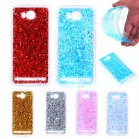 Huawei Lua-L21 Y3II Y3 II Colored Shining Case Soft Silicone TPU Frame with Shiny Glitter Back Cover Case for Huawei Y3 II Y3II