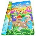 0.5 cm Double-Side Rastejando Esteira do Jogo Do Bebê Dinossauro Jogo de Puzzle de Espuma Eva Chão do Ginásio Macio Crianças Tapete para bebês KidsToys