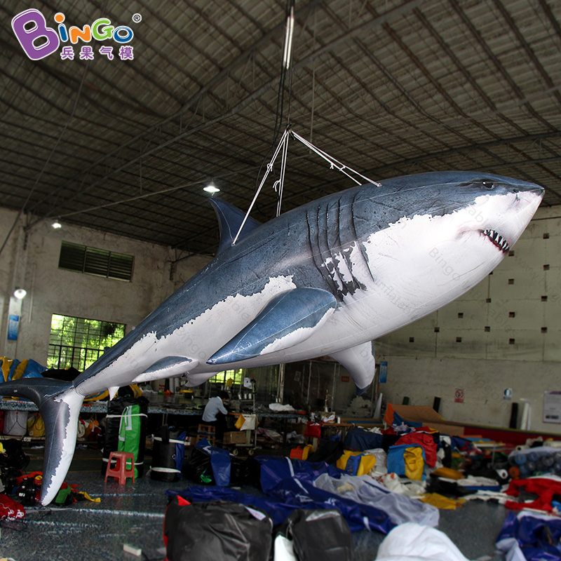 Vivid 4 meters long inflatable shark model for ocean theme party decoration PVC toysVivid 4 meters long inflatable shark model for ocean theme party decoration PVC toys