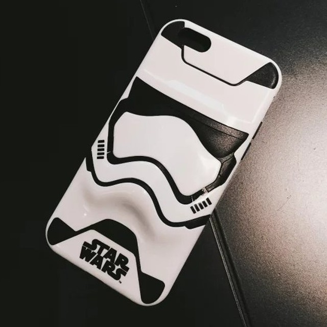 Star Wars 3D Stormtrooper Silicon Case For iPhone 6 & iPhone 7