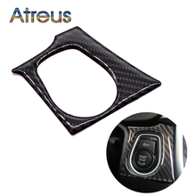 Atreus Carbon Fiber Engine Start Button Interior Decorative Stickers For BMW F30 F35 Car Accessories 3Series GT 320i Car Styling