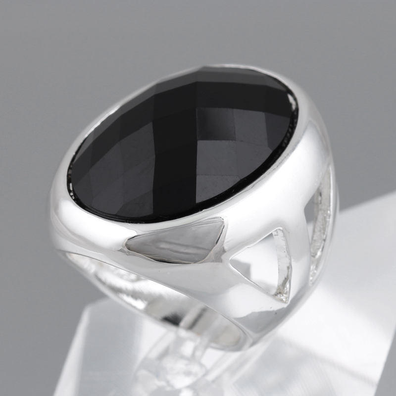 unisex gold from fahion men free and wedding in shipping with design women korea sliver plated acrylic item rings jewelry vintage for black color